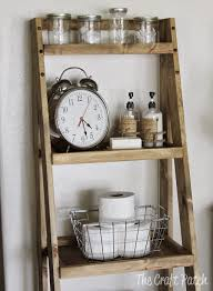 bathroom ladder shelf 1 guest bedroom decorating ideas 2017 35
