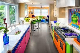 cuisine coloré la psychologie des couleurs dans une cuisine colorée