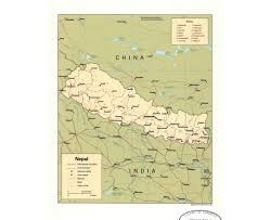 Map Of Nepal India by Maps Of Nepal Detailed Map Of Nepal In English Tourist Map