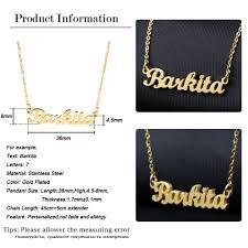 Custom Necklace Pendants Online Shop Nirano Personalized Name Choker Necklace U0026 Pendants