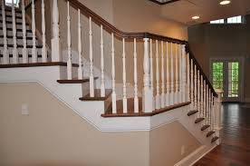 custom stair railing system grosse construction services