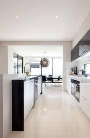 modern galley kitchens modern galley kitchen with glossy floor and white and grey