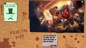 league of legends cho u0027gath corkboard wallpaper by sirshoop on
