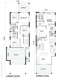 multi unit house plans narrow townhouse plans luxury home for lots multi unit floor small