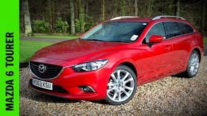 mazda m6 mazda 6 tourer review youtube