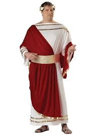 Authentic Halloween Costumes Adults Size Caesar Costume Halloween Costumes