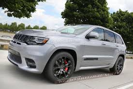 monster jeep grand cherokee hellcat powered jeep grand cherokee trackhawk confirmed for real