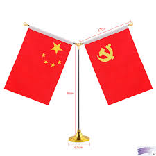 aliexpress com buy 14 21cm custom small flag with stand flags