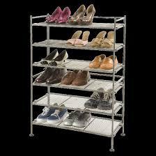 seville classics 3 tier mesh utility shoe rack gray target