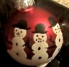 print snowman ornament to diy today