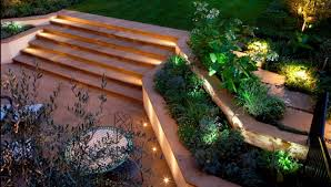 ambient led outside lights at driveway lighting ideas uk