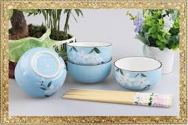 wedding gift japan manufacturers customized logo painted ceramics tableware set