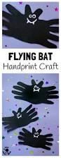 halloween bat handprint craft kids craft room