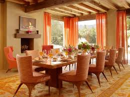 dining room over curtains pedestal room decors double awesome