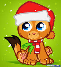 draw christmas cat christmas cat step step