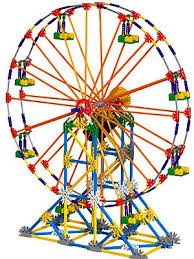 k nex light up ferris wheel instructions new k nex collect and build series amusement parks and road rigs