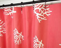 72 X 78 Fabric Shower Curtain Fabric Shower Curtains Etsy