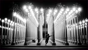 furniture lacma at night place in la with light posts address