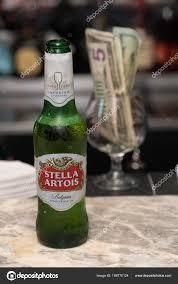 Common Nova Iorque Por Volta 2018 Garrafa Cerveja Stella Artois  @TZ32