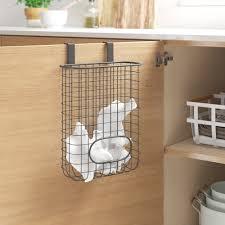 kitchen cabinet door storage racks pantry door organizers you ll in 2021 wayfair
