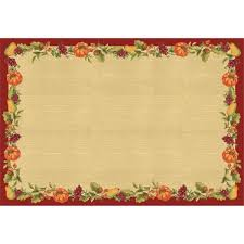 thanksgiving paper placemats 24ct thanksgiving 2017