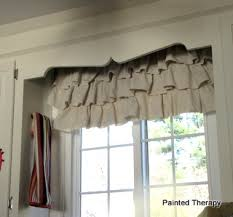 How To Make Ruffled Curtains Make Your Own Ruffled Curtains From Painter U0027s Drop Cloths Hometalk