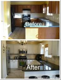Painted Kitchen Cabinets Before After 10 Diy Easy And Little Project For Your Kitchen 5 Wood Counter