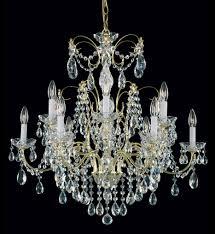Crystal Chandelier Schonbek 1596 23h Madison 12 Light Etruscan Gold Crystal