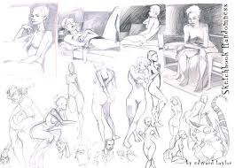 some new model sketches from industry giants u2013 edwardian taylor