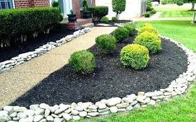 stone flower bed border brilliant garden edging ideas you can do