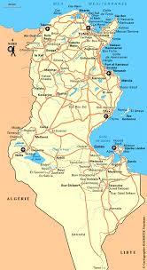 tunisia map free tunisia maps
