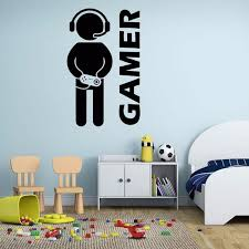 aliexpress com buy 2017 new video game wall sticker gamer