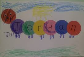 name writing craft preschool is sung sand names assist child