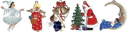 pewter ornaments from germany