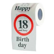 lustiges fun klopapier zum 70 geburtstag toilettenpapier