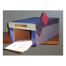 mailbox craft mailboxcraft i could make this and kids could put their stories in
