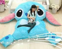 Giant Totoro Bed Aliexpress Com Buy 220x150cm Large Size Cartoon Mattress Stitch