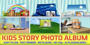 kids photo album kids story photo album by black motion videohive