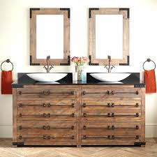 very cool bathroom vanity and sink ideas lots of photos inside ideas 72 bonner reclaimed wood double vessel sink vanity gray wash brilliant 30 bathroom