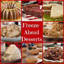 68 make ahead freezable desserts for the holidays mrfood