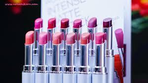 Wardah Matte Lipstick review wardah matte lipstick all shade travelling