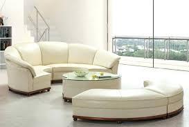 canape forme ronde canape rond cuir fauteuil contemporain en tissu en cuir