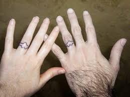 Wedding Ring Tattoo Ideas 20 Best Wedding Ring Tattoos Images On Pinterest Tatoos Couple
