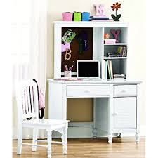 White Children S Desk by Amazon Com Desk With Hutch And Chair This Kids U0027 Neat White