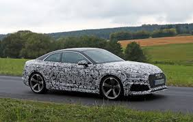 spied audi rs5 testing near nurburgring quattroworld