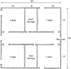 Floor Plan For The Barn I Hope I Have Someday Hay Storage Above Free Floor Plans For Barns