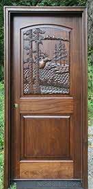 Carved Exterior Doors Carved Doors Carved Solid Mahogany Wood Doors