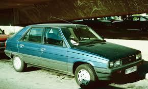 1986 renault alliance 11