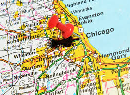 Route 66 Illinois Map by Chicago Map Images U0026 Stock Pictures Royalty Free Chicago Map