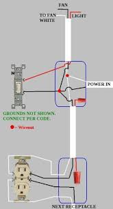 light switch to outlet u0026 ceiling fan issue doityourself com